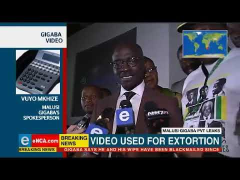 Sex tape: Gigaba's home affairs leaked