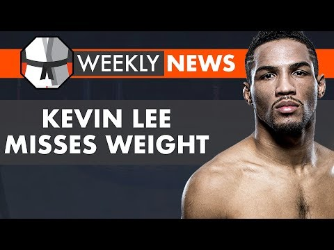 Weekly News Live Chat: Kevin Lee Misses Weight, MMA Ratings & Sales, Askren vs MacDonald, PFL