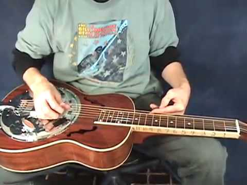 """OPEN D"" TUNING FOR THE DOBRO - RESOPHONIC GUITAR - SLIDE GUITAR  - www.LessonsWithTroy.com"
