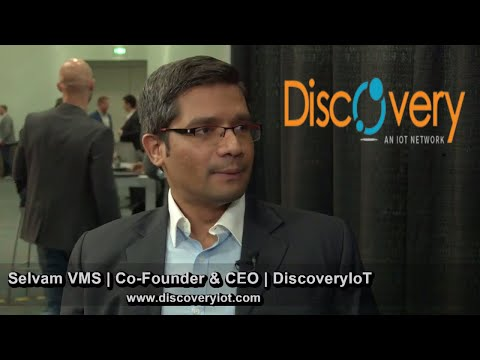 DiscoveryIoT | Co-Founder & CEO Selvam VMS | Revolutionizing Supply Chain | Crypto Invest Summit