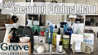 HUGE GROVE COLLABORATIVE HAUL 2019 :: NATURAL & NON TOXIC CLEANING PRODUCT UNBOXING