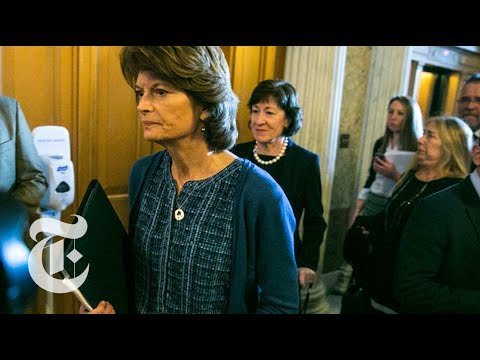 GOP's Lisa Murkowski Shows No Fear In Disappointing President Trump | The New York Times