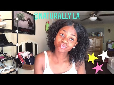 Wash And Go Tutorial | Krave LaLa thumbnail