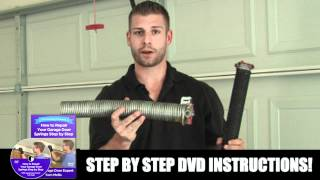 How To Replace Garage Door Spring