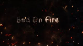 Teddy Swims - Bed On Fire with Ingrid Andress (Official Lyric Video)