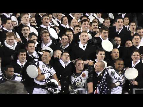 2012 Army-Navy football game: Final minutes and post-game activities |