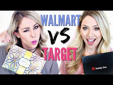 UNBOXING | Walmart vs Target Beauty Box
