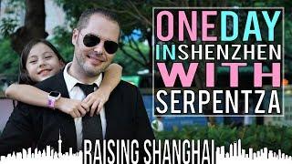 ONE DAY IN SHENZHEN W/ SERPENTZA | RAISING SHANGHAI