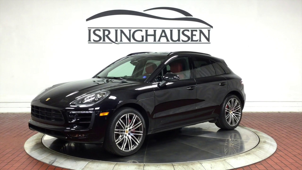 2017 Porsche Macan Gts In Jet Black Metallic 54537a Youtube
