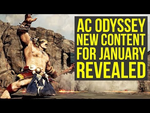 Assassin's Creed Odyssey DLC Release Date & January Content REVEALED (AC Odyssey DLC) thumbnail