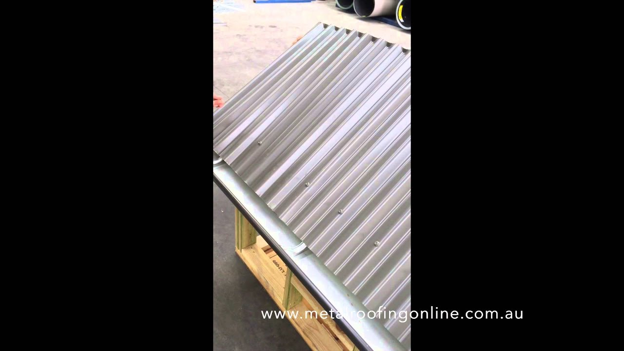 How To Install Fasteners Into Colorbond 174 Roofing
