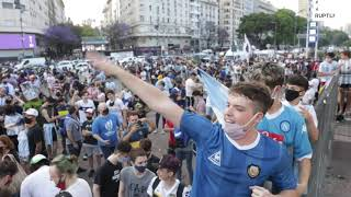 Argentina: 'I died wİth him' - Fans pay tribute to football icon Maradona