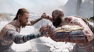 God of War Stranger Vs Kratos Complete Fight