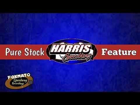 5/27/18 Pure Stock Feature   At Harris Speedway