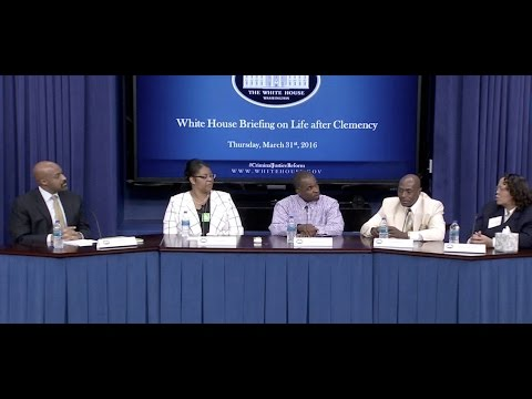 White House Briefing on Life After Clemency