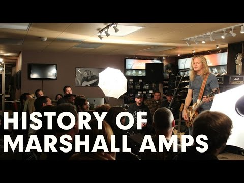 History of Marshall Amplification, Live with Nick Bowcott from Grim Reaper