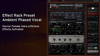 Free Effect Rack Preset: Ambient Phased Vocal