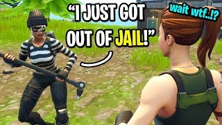 I met a guy who got ARRESTED 10 times on Fortnite... (HE WENT TO JAIL!)