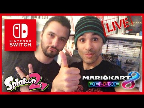 🔴 NINTENDO SWITCH AVEC GABY  (MK8, SPLATOON 2)