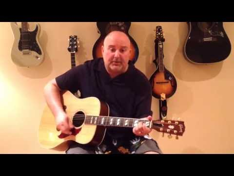 How to Play Forever In Blue Jeans - Neil Diamond (cover) - Medium 9 Chord Tune