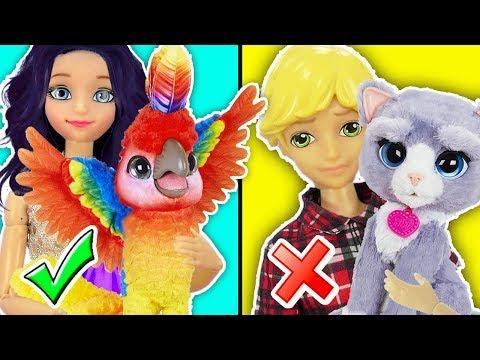 Marinette y Adrien cuidan Mascotas Magicas