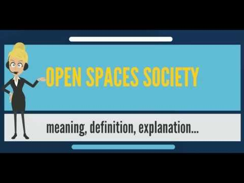 What is OPEN SPACES SOCIETY? What does OPEN SPACES SOCIETY mean? OPEN SPACES SOCIETY meaning