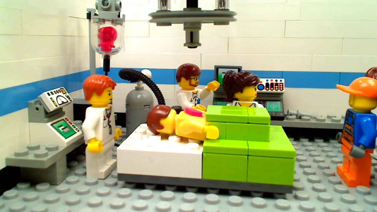 Lego Operating Room: Special Delivery - YouTube
