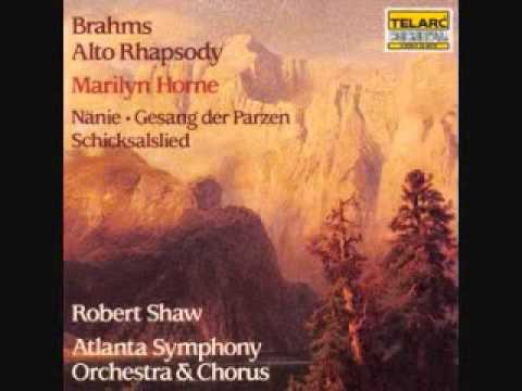 Brahms  Schicksalslied, Op 54, Song of Destiny