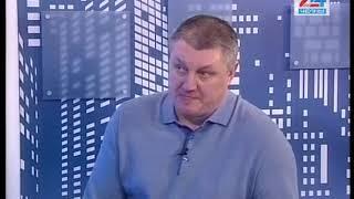 гость студии   главный тренер ХК «Челны» Айдар Мусакаев