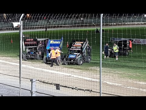Dean Brindle Racing, Sprintcar Rolling Thunder RD.1. Palmerston North