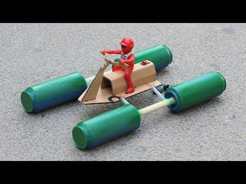 how-to-make-a-motor-bike-boat---recycling-bottles-boat