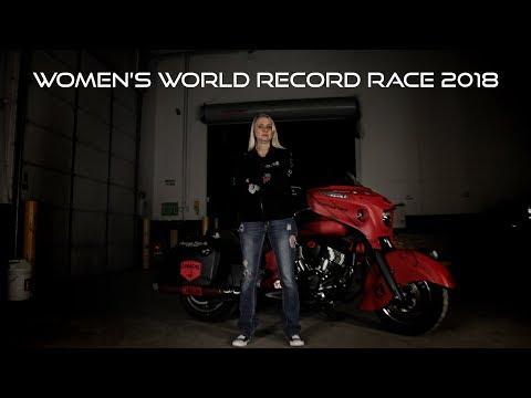 2018 WOMEN'S WORLD RECORD RACE - FAITH AHLERS