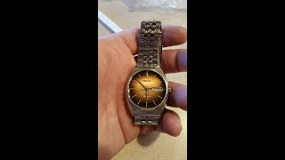 Vintage Seiko Watch Clean Up - Stainless Steel Band