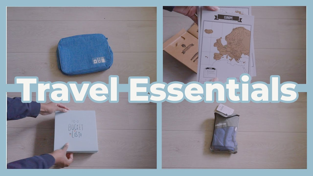CHEAP Products for TRAVELLING?! - AliExpress Travel Haul