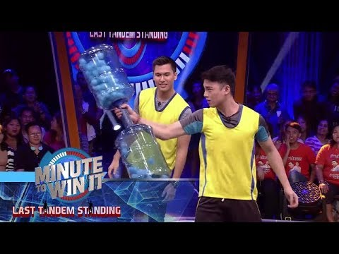 Giant Baby Rattle | Minute To Win It - Last Tandem Standing