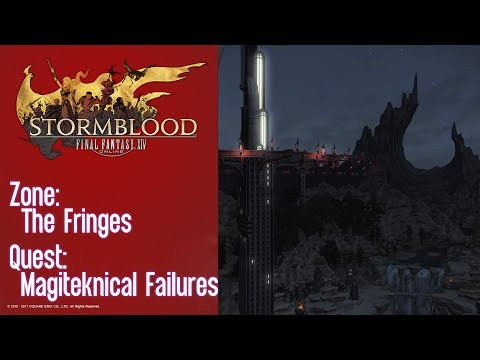 FFXIV Stormblood Quest: The Fringes - Magiteknical Failures (Aether Current)