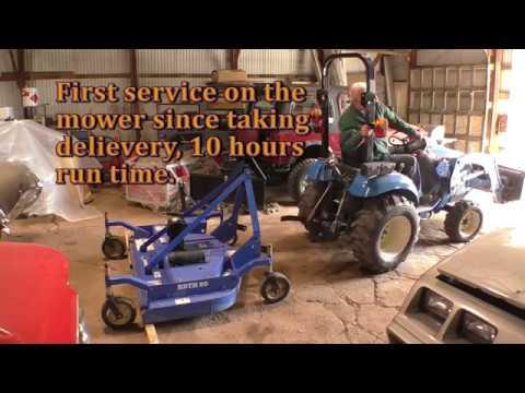 Bush Hog RDTH 60 Maintenance