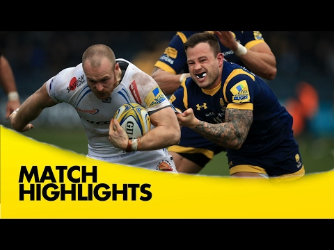 Worcester Warriors v Exeter Chiefs - Aviva Premiership Rugby 2016-17