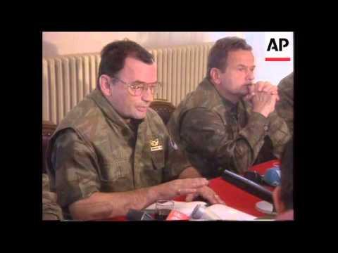 Bosnia - Mladic Still Commanding Troops