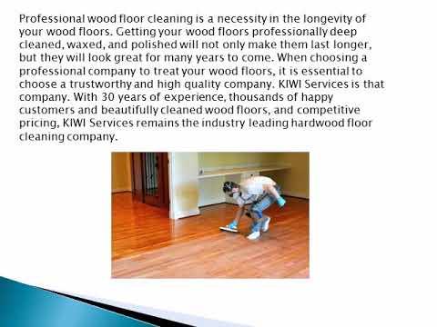 Wood floor wax