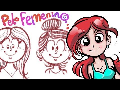 aprende-a-dibujar-cabello-femenino-con-ivanevsky