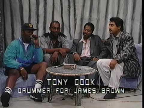 "Tony Cook (James Brown drummer) & Oakland's Freddie B. LIVE TV 92"" G-Spot"
