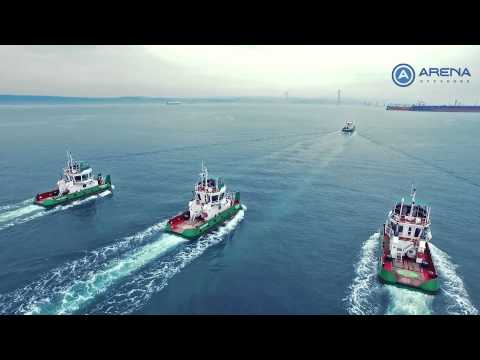 ARENA OFFSHORE - 16m PUSHBOAT and 22m TUGBOAT