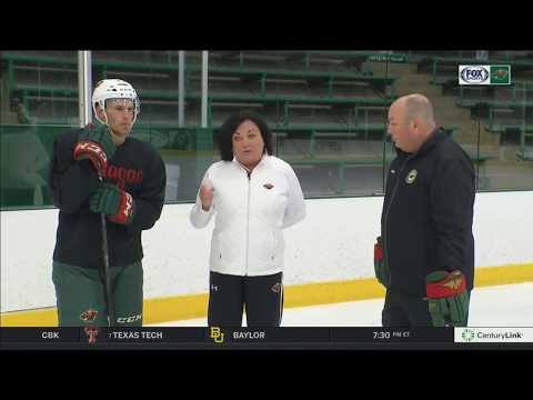 On Ice Instructional: Quick starts with Zach Parise and Diane Ness