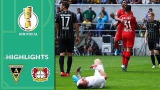 Crazy own goal helps Havertz & Co. | Aachen vs. Leverkusen 1-4 | Highlights | DFB Cup | 1st Round