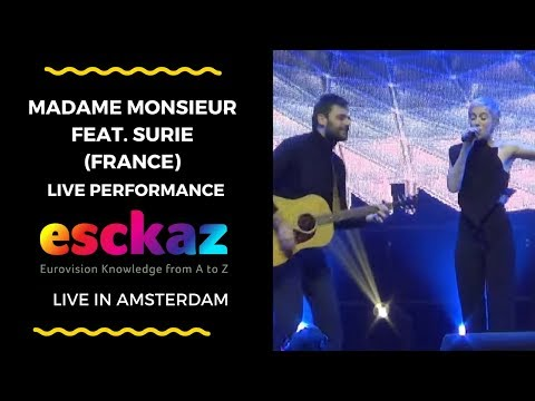 ESCKAZ in Amsterdam: Madame Monsieur (France) feat. SuRie - Mercy