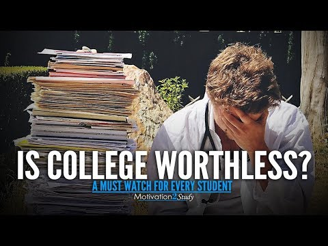 SHOULD YOU GO TO COLLEGE? – Motivational Video Every Student Really Needs to Hear | Study Motivation