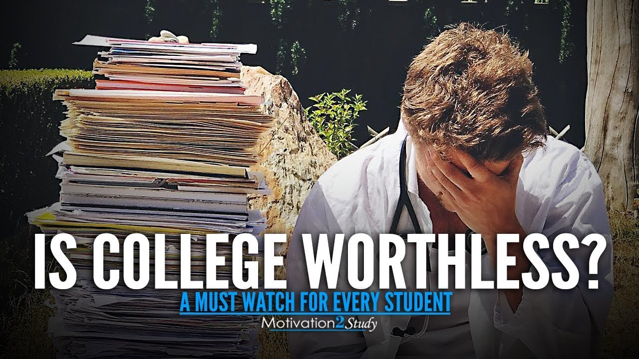 SHOULD YOU GO TO COLLEGE? - Motivational Video Every Student Really Needs  to Hear | Study Motivation
