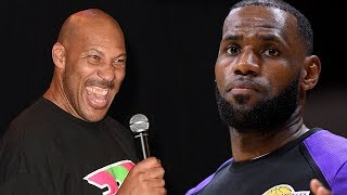 Lavar Ball REVEALS His Relationship With LeBron James & Says WHEN The Lakers Will FIRE Luke Walton!
