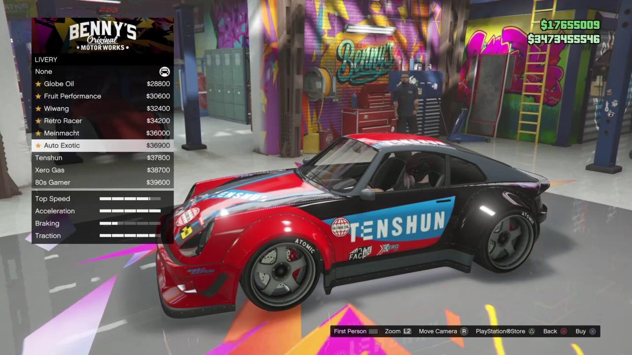 Gta V Online Best Bennys Cars